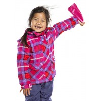 Демисезонная куртка для девочки  650 MJ F14, Virtual Pink