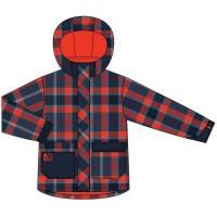 Демисезонная куртка с утеплителем для мальчика   651 M F14  Navy Nano